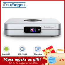 TouYinger K2 DLP Smart Android projector support FULL HD 1080P 2.4G + 5G Wifi 2G
