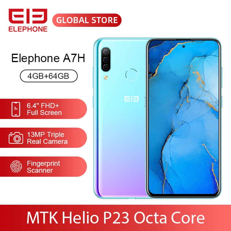 ELEPHONE A7H Helio P23 Octa Core 4GB 64GB Mobile Phone 6.4