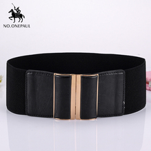 NO.ONEPAUL  retro belt trend simple youth decoration casual Cowhide belts New fashion designer design ladies square buckle