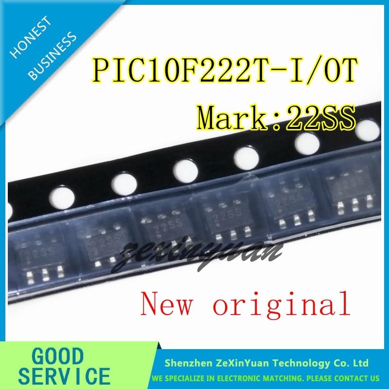 10PCS 30PCS 50PCS PIC10F222T-I/OT PIC10F222-I/OT PIC10F222 SOT23-6 New Original