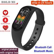 M5 Smart Bracelet Watch Women Bluetooth Call/Music Smart Band Waterproof Heart Rate Blood Pressure Men Health Wristband