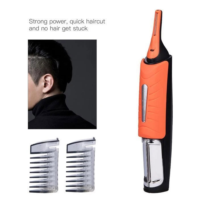 US $7.0 50% OFF|Led Multi functional Eyebrow Ear Nose Trimmer Removal Clipper Men Haircut With Combs&Light Face Care Hair Trimer Dropshipping|Outdoor Tools| |  - AliExpress