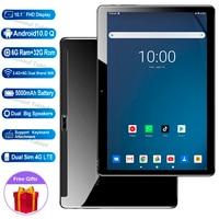 2021 nuovi anni 5G Wifi 4G LTE Tablet pc da 10 pollici 6G Ram 1280*800 HD Android 10.0 Q os octa core телефонный звонок ппк