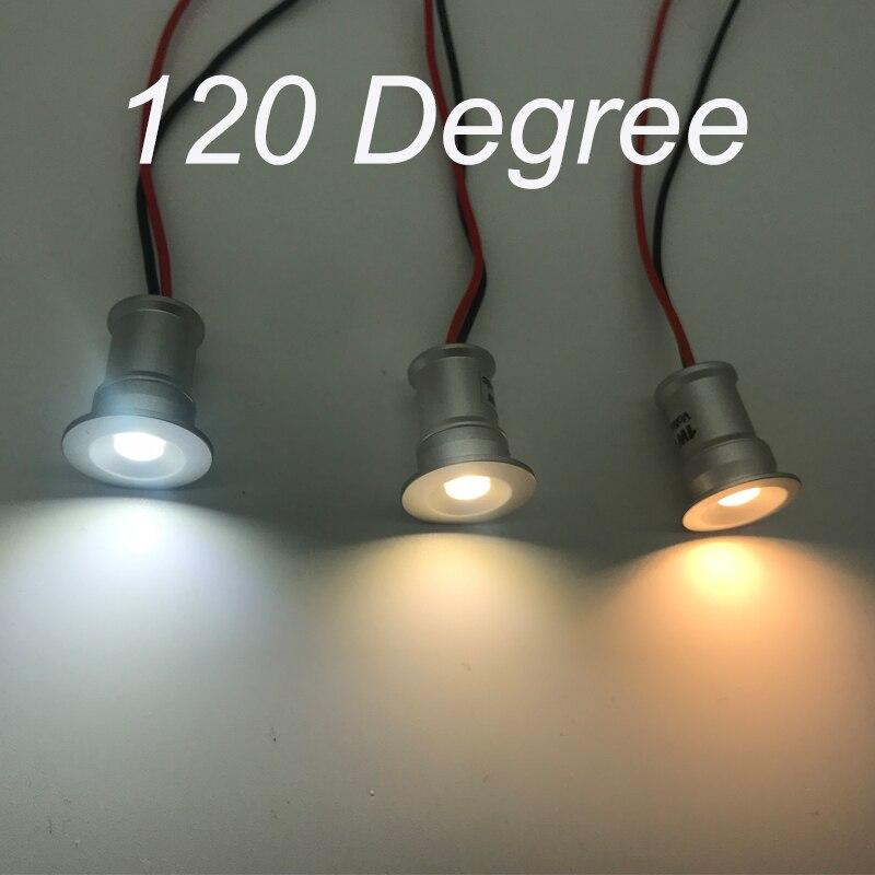 Image 4 - 1 Вт DC12V IP65 мини светодиодный прожектор + IP67 источник питания наружные вечерние точечные светильники 80Ra 100Lm CE-in Полочные светильники from Лампы и освещение
