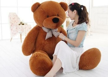 Huge Giant Plush Lovely Teddy Bear Stuffed Animal Soft Cotton Toy Gift 80-200cm Decoration Bedroom Cute