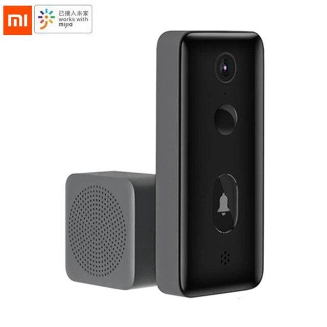 Xiaomi MiJia Smart Video Chuông Cửa 2/Lite Ai Mặt Nhận Dạng Có Hồng Ngoại Quay Ban Đêm 2 Chiều Liên Lạc Nội Bộ Phát Hiện Chuyển Động tin Nhắn SMS Đẩy