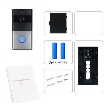 Smart IP Video Intercom WI-FI Video 720P Ring Phone Door Bell Cam WIFI Doorbell Camera Home Alarm Wireless Security Camera 8
