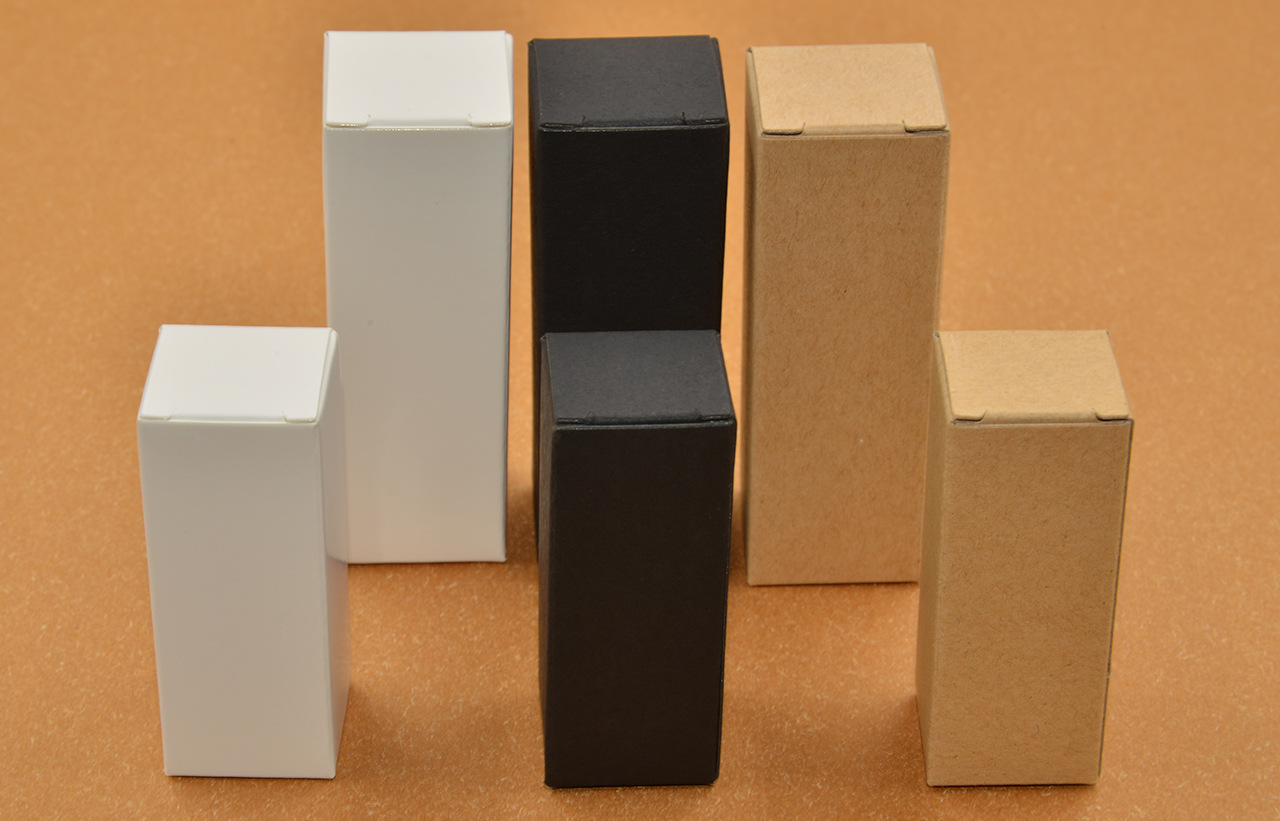 Image 5 - 50pcs 100pcs Kraft Paper cardboard Box Jewelry gift Candy packaging carton Box gift soap Package Packing paper Box white-in Gift Bags & Wrapping Supplies from Home & Garden