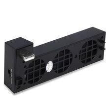 Venda quente 3c yz usb ventilador de refrigeração é adequado para xbox um x console, sistema de refrigeração é adequado para xbox um x com 3 ventiladores de refrigeração