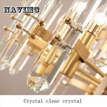 Postmodern Luxury Crystal Chandelier Living Room Restaurant Lighting Villa Atmosphere Creative Personality Lamp