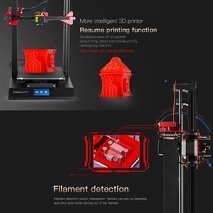 Image 5 - 3D принтер CREALITY, Модернизированный комплект самонивелирующихся 3D принтеров для самостоятельной сборки, 300*300*400 мм, большой размер печати, ЖК экран