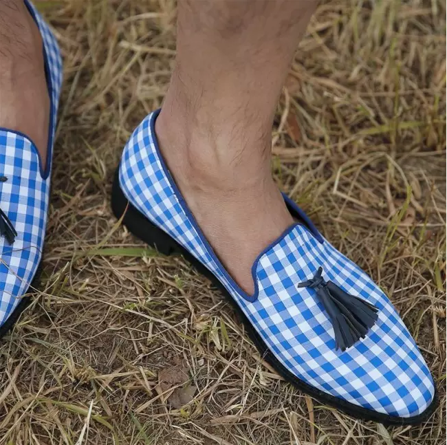 Ручной работы юбка брюки из смеси Цвет Тканевая обувь для Для мужчин формальные Мокасины Повседневная обувь для Для мужчин Новый стиль светильник обувь HA202|Кроссовки и кеды|   | АлиЭкспресс