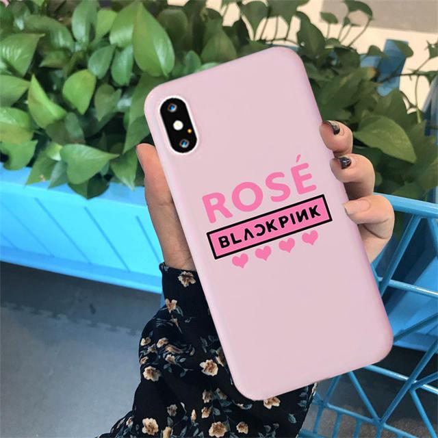 BLACKPINK MEMBER IPHONE CASE