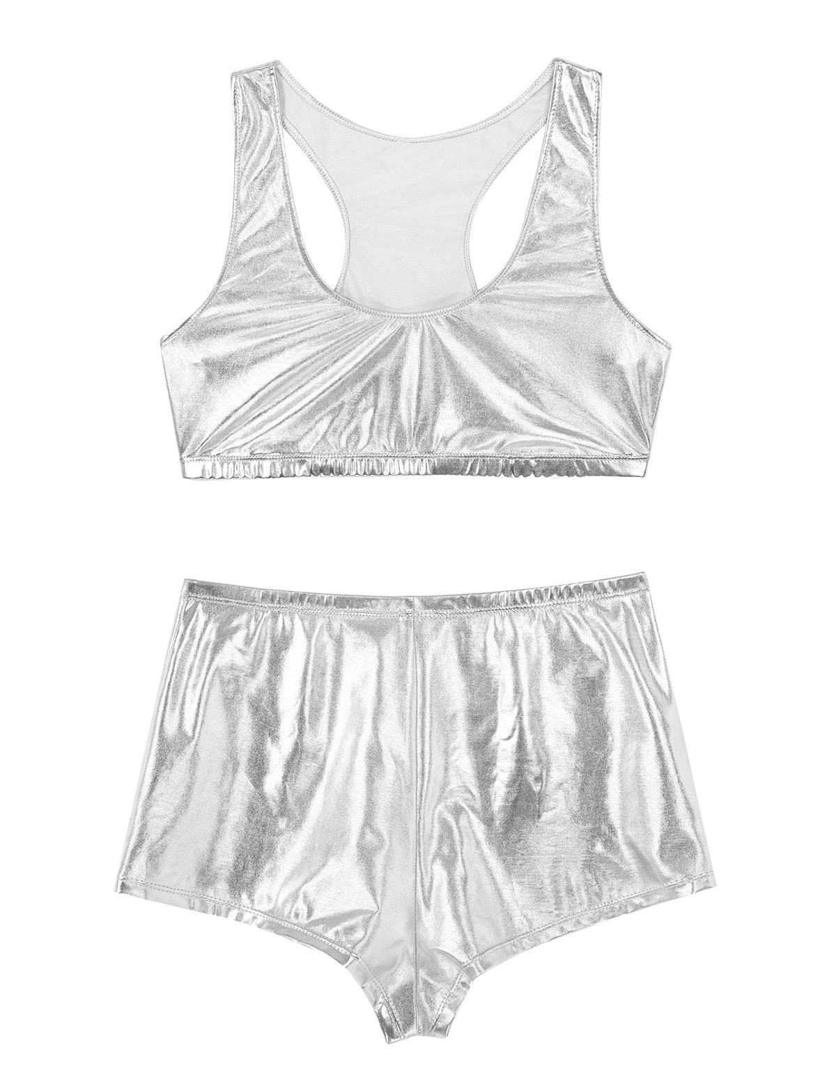 Women's 2-piece set made of faux leather msow