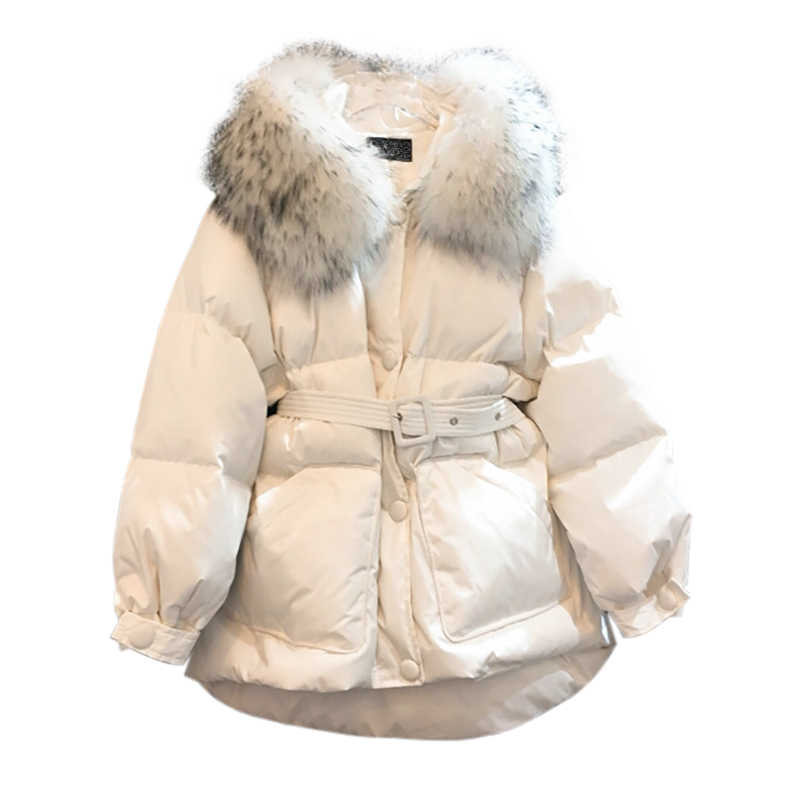 Womens Parka White