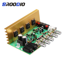 все цены на OK688 Reverberation Amplifier Board 2.0 Channel 100W*2 High Power Audio Amplifiers Board Dual AC18-24V For Home Speaker DIY Amp онлайн