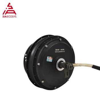 QS Motor 2000W 205 50H V1 electric scooter spoke hub motor low power for e-bike Brusheless DC motor dropout 200mm image