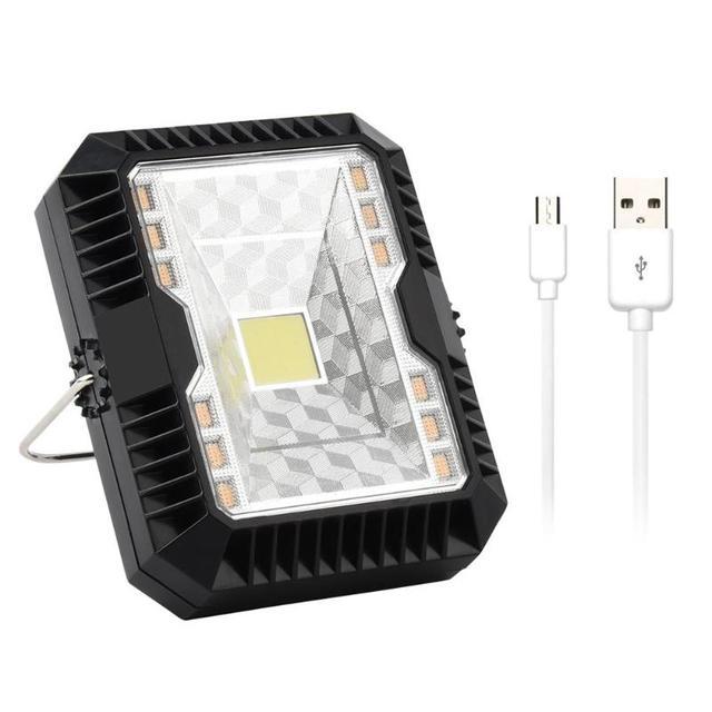 Portable Lantern Camping Light USB Solar Charging Flashlight Camping Tent Light Outdoor Portable Hanging Lamp Solar LED Lantern 1