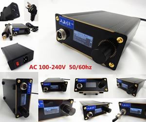 Image 5 - 100 240V עור קרפט חשמלי קמטים ושולי מכונת ידית גזירת Edger כלי סט תפירה תפרים גילוף ביול סכין