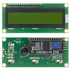 Image 4 - 10pcs LCD1602+I2C LCD 1602 module Blue /yellow green screen IIC/I2C LCD1602 IIC LCD1602 Adapter plate
