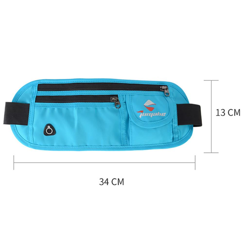 Men's And Women's Waist Pack Waterproof Outdoor Sports Pockets Running Pockets Fashion Simple Casual Multifunctional H1