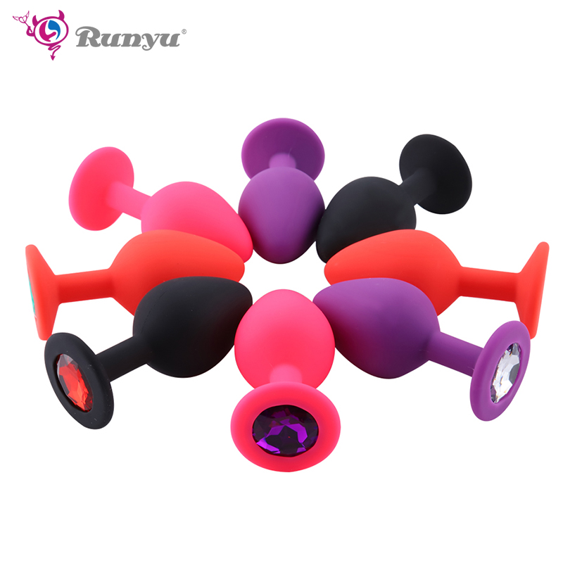 Anal Plug Silicone Butt Plug Anal Plug Unisex Sex Stopper M Size Adult Toys For Men/Women Anal Trainer For Couples