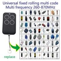 Cópia porta da garagem controle remoto 315 330 433 868 mhz duplicador de rolamento fixo multi código controle remoto|Controle remoto p/ portão| |  -