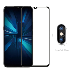 На Алиэкспресс купить стекло для смартфона full cover tempered glass + camera protector for vivo y19 y17 y12 y11 2019 y15 y97 y95 y93 y91 v17 neo v15 pro v11 s1