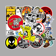 100 pcs Skateboard Motorcycle Refrigerator Suitcase Computer Guitar Graffiti Waterproof Sticker Funny PVC stickers DIY  decorate