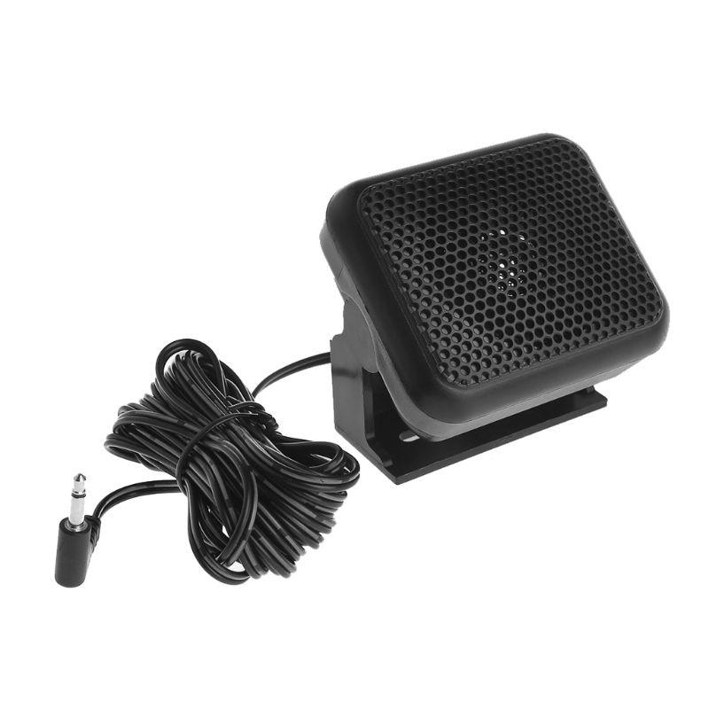2020 nouveau 3.5mm P600 autoradio haut-parleur externe pour Yaesu Icom Kenwood Radio Mobile TM481A
