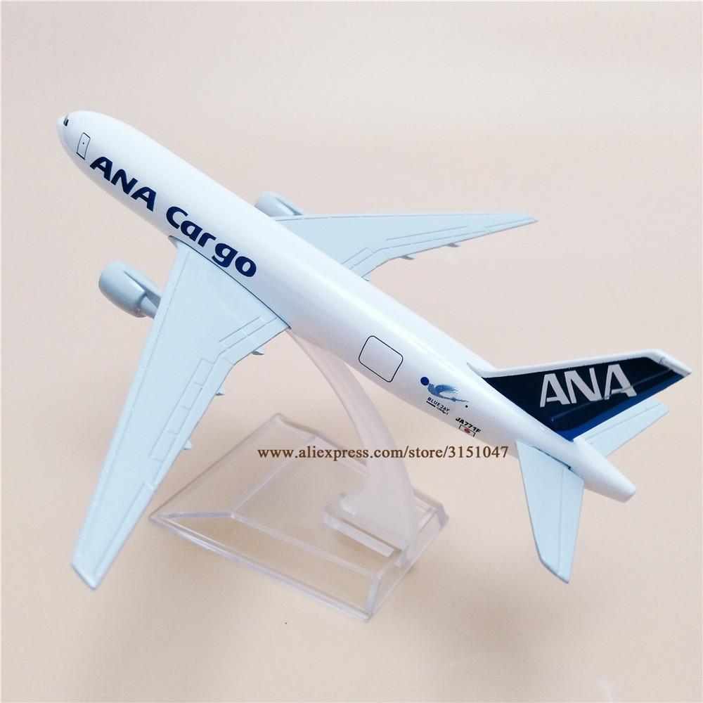 16CM ANA CARGO BOEING 767 Passenger Airplane Diecast Aircraft Metal Plane Model