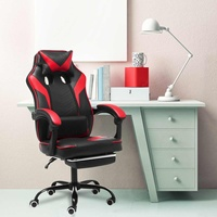 Computer Office Executive Chair Ergonomic Leather Reclining Office Furniture Lift Computer Gaming Chair Armchair with Footrest