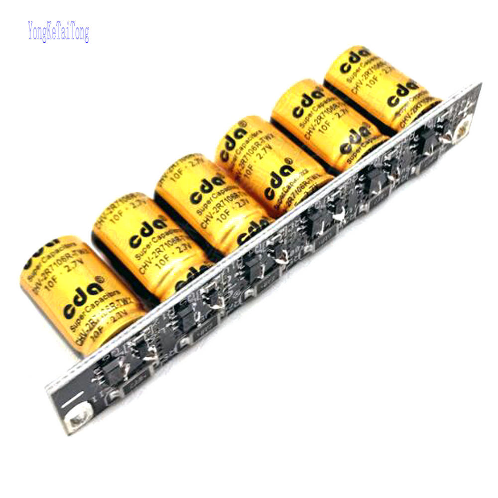 1PCS New Taiwan CDA 16V1.6F  Power Module Backup Power 16V 1.6F SuperCapacitor farah capacitor 2.7V10F|Capacitors|   - AliExpress