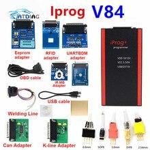 IPROG + Iprog Pro Programmatore V84 Supporto 2019 Anno di 3in1 IMMO + Correzione di distanza in Miglia + Airbag Reset Sostituire Carprog/digiprog/Tango