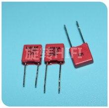 20 قطعة الأصلي التفكيك الأحمر WIMA MKP2 1500PF 630V P5MM 0.0015 فائق التوهج 152/630V الصوت 152 mkp 2 1500P 1.5NF 1N5