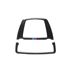 Image 4 - Para bmw f10 f25 x3 f26 x4 série 5 11 17 5gt f07 10 17 luz de leitura do carro de fibra de carbono capa adesivo decalque decorativo acessórios