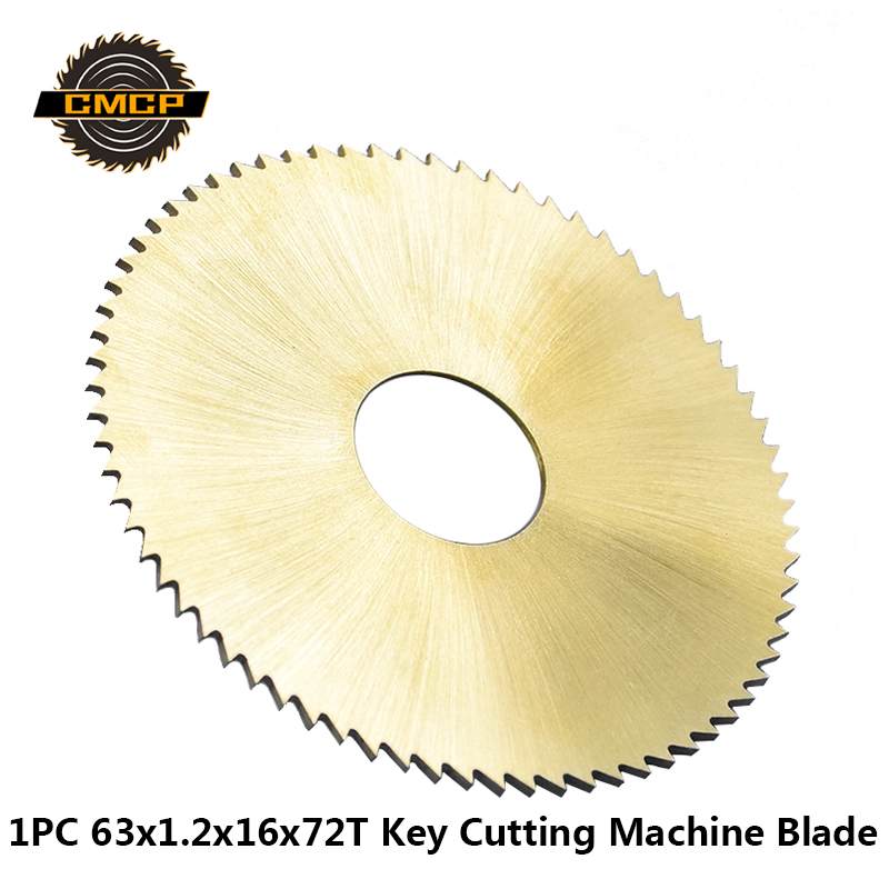 1PC Diameter 63x16x1.2mm 72T Saw Blade Key Cutter Blade For Key Cutting Machine 238BS 238RS Locksmith Tools Cutting Disc