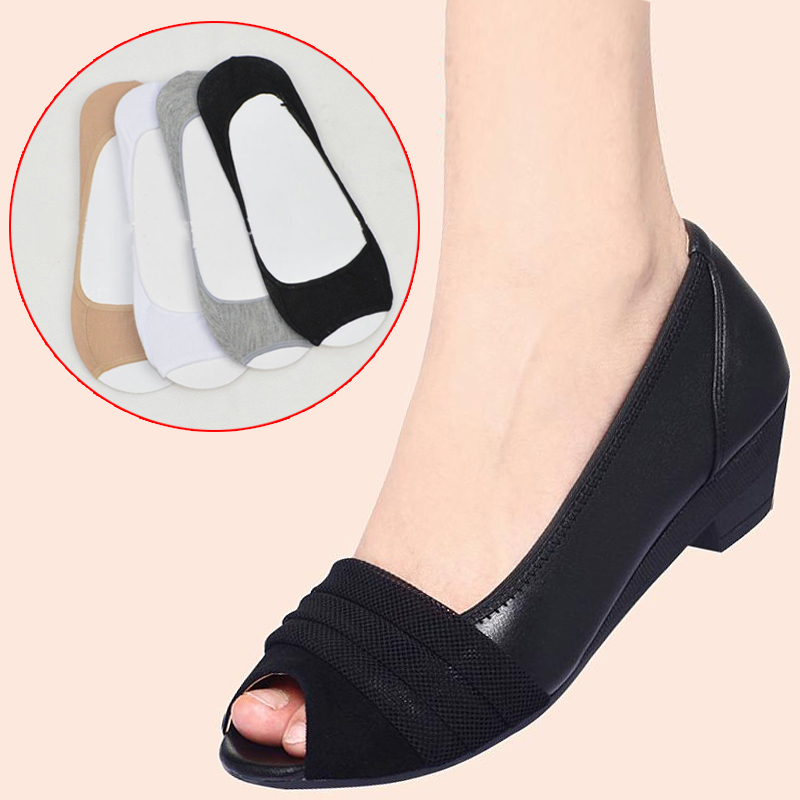 Invisible Toe Socks With Non Slip Silicone To Protect Feet From Pain For Office Use And Daily Use