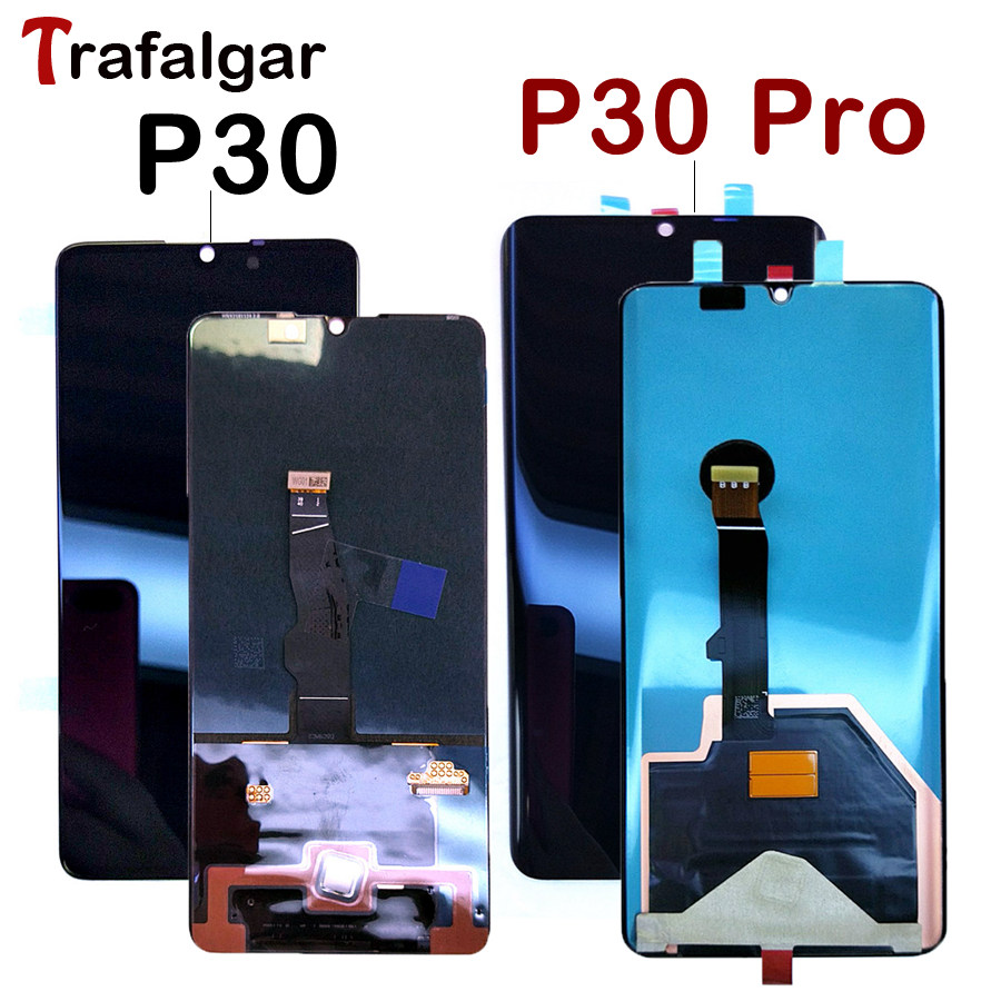 ORIGINAL LCD Huawei P30 Pro Display Touch Screen Digitizer ELE L09 L29 For Huawei P30 Display