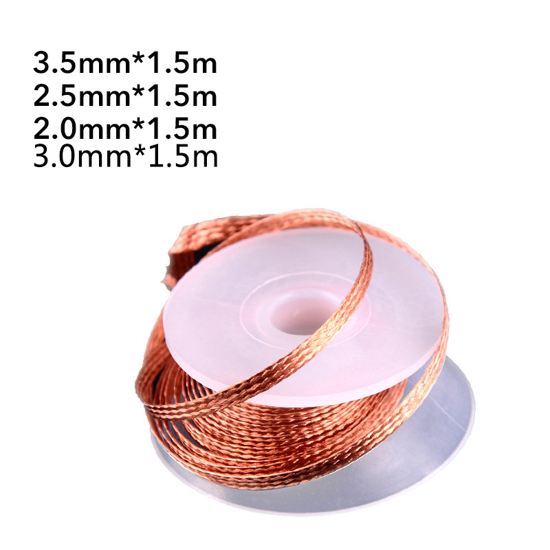 Desoldering Wick Desoldering Braid Solder Remover Wick Cable Wire Solder Removal Tool 1.5M