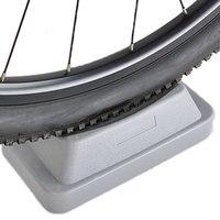 MTB Vorderrad Riser Block Stabilisieren Matte Für Indoor Trainer Blau-in Fahrrad-Rollentrainer aus Sport und Unterhaltung bei