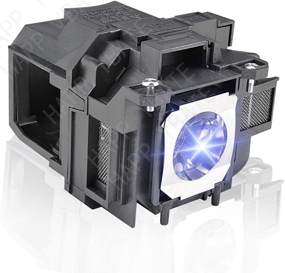 HAPPYBATE ELPLP78 Replacement Projector Lamp With Housing  For EB-X20 EB-X18 EB-X120 EB-X03 EB-W28 EB-W22 EB-W18 EB-W120 EB-W03