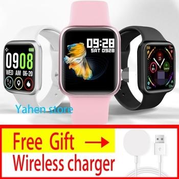 P90 Smart Watch Heart Rate Monitor Smartwatch Men Women for iPhone Xiaomi Apple Phone Heart Rate Monitoring band PK iwo p80 p70