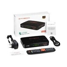 Gtmedia V7 Pro DVB-S/S2/S2X + T/T2 Geheugen 1G Bit Ondersteuning Albertis/Tivusat/Bbc Satback Vcm/Acm/Multi-Stream/T2MI