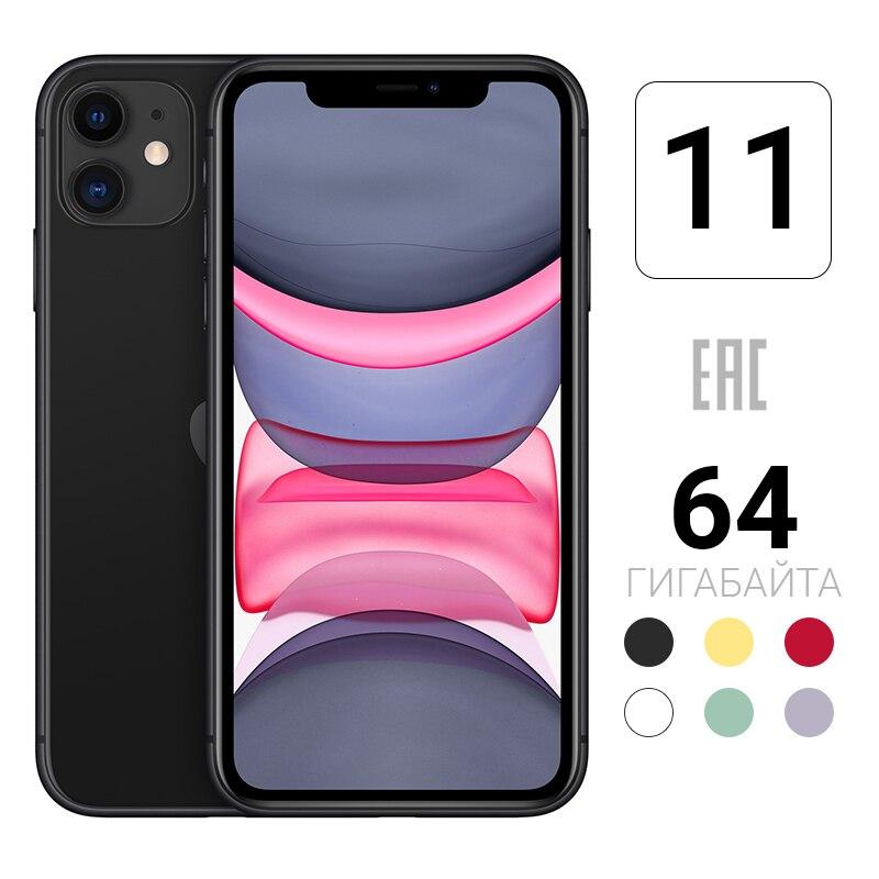 Смартфон Apple iPhone 11 64GB [новая версия, российский магазин, гарантия производителя, доставка из Москвы от 1 дня]