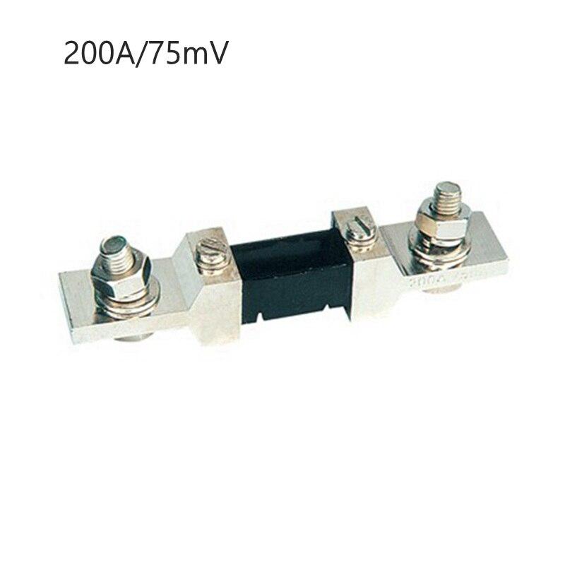 300a 500a 75mv amperímetro shunt monitor atual para dc ampere medidor