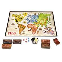 Risico/risco jogos de mesa 2-6 jogadores 30min versão em inglês jogo de tabuleiro de guerra de risco-dominação global