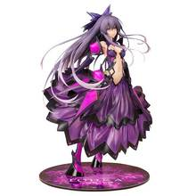 Anime Date A Live Prize Taito Tohka Yatogami Princess Reverse Ver. Astral Dress Ver PVC Action Figure Model Doll Toys B19 19cm anime my little sister can t be this cute action figure black cat kuro neko white dress ver model pvc decoration doll efi5