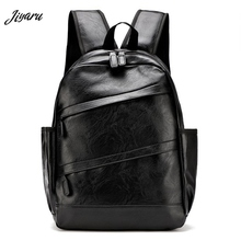 Hot Sale Mens Leather Backpack Casual Travel Backpack Bag High Quality Men Laptop Backpack Fashion Bagpack Male Mochila