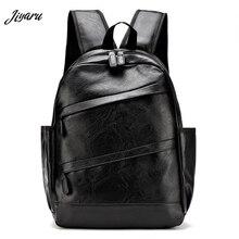 ホット販売メンズ革バックパックカジュアルトラベルバックパックバッグ高品質メンズラップトップバックパックファッションbagpack男性mochila